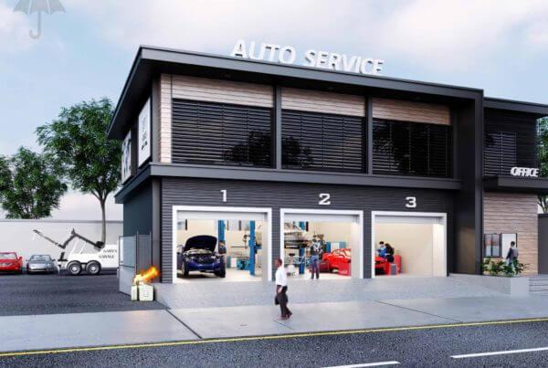 Clickable Coverage - Garage Repair Shop