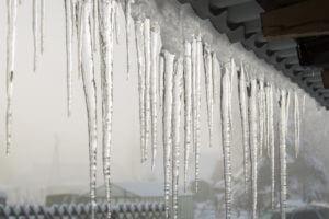 Ice damming prevention